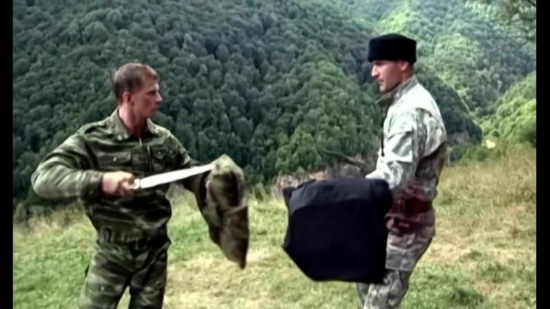 Стреляющие горы (2010). Финальный поединок Хасана с капитаном Меркурьевым