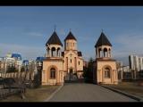 Утановка ограждения солеи в церковь Святого Саркиса