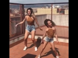 Спортивные мама и дочка 😍