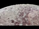 NASA сделали ролик, в котором с помощью фотографий со спутника восстановили детали рельефа Плутона