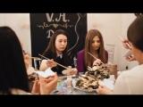 видео-отчёт с мастер-класса свадебного агентства Веры Брежневой