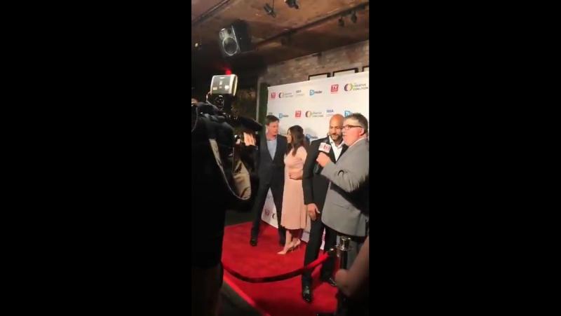 Хлоя на награждении Television Industry Advocacy Awards в Лос Анджелесе 16 сентября 2017