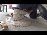 Человек-цемент