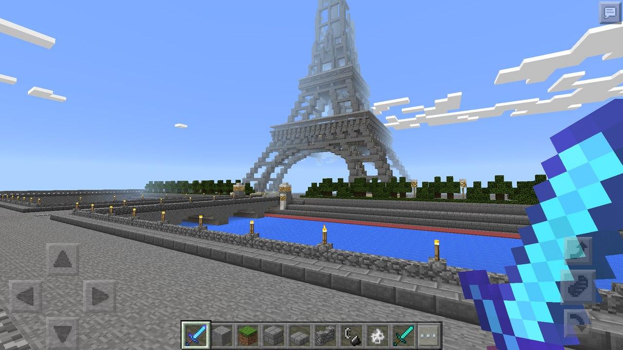 Карта Eiffel Tower