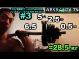 шоу NEKRASOV TV 2017. Евгений Некрасов vol 2.0. Перезагрузка. Надо подкачаться #3. Начинал с 18кг. Иду на рекорд: 28.5кг