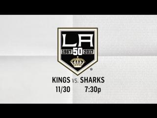 Kings vs. Sharks 11/30 2016