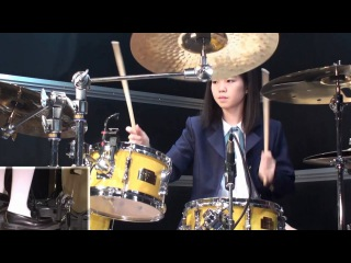 K-ON!! U I cover (only drums) けいおん!! 劇中歌 ドラムのみ