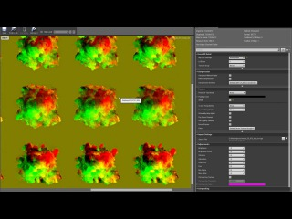 Motion Vector 2D gradient lookup Shader - Unreal Engine 4