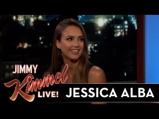 Jessica Alba's Awkward Run-In with Her Biggest Fan
