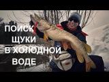 Тактика поиска и ловли щуки на малой реке. Холодный период.