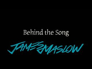 Cry - James Maslow (Behind the Song)