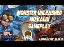 MARVEL Future Fight T2 Monster Unleashed Kid Kaiju Gameplay WB, Story 11-1, Timeline, WBI