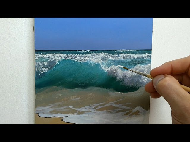94 How To Paint a Seascape Part 1 | Oil Painting Tutorial