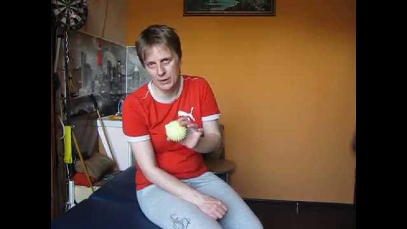 Массажные мячики в реабилитации после травмы / Massage balls in rehabilitation after injury