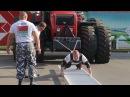 Мировой рекорд: Дмитрий Белайц сдвинул с места трактор BELARUS-3522 весом 19 тонн