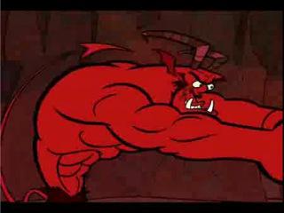 Прекрасный мультик о любви дьявола к своей безумно сексуальной и развратной дьяволице - видео ролик смотреть на Video.Sibnet.Ru