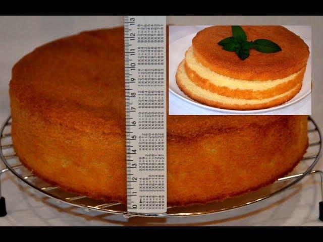 ✧ БИСКВИТ ИДЕАЛЬНЫЙ Самый удачный рецепт! ✧ Sponge Cake Recipe ✧ Марьяна