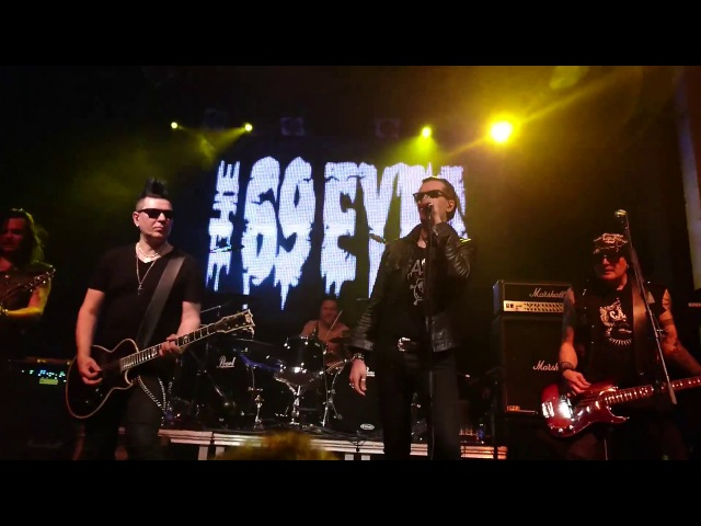 The 69 Eyes - Wasting the Dawn and Gothic Girl - Madrid 05/05/2017
