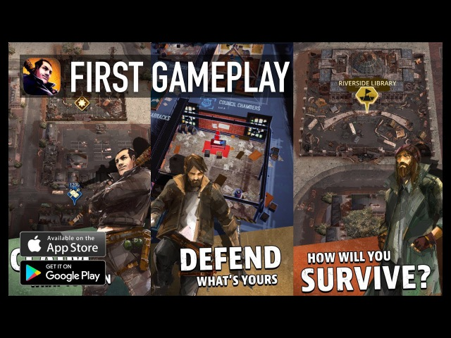 The Walking Dead: March to War (by Disruptor Beam) - iOS / Android - FIRST GAMEPLAY