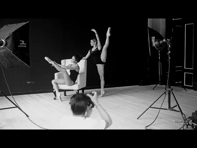 Ballerinas | Photoshoot by Andres Sivtsov | Backstage