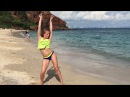 HOT DANCE at the beach- Polina Dubkova (twerk and dancehall)