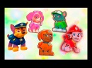 Щенячий патруль Семья пальчиков песня на русском для детей Учим цвета обучающее видео