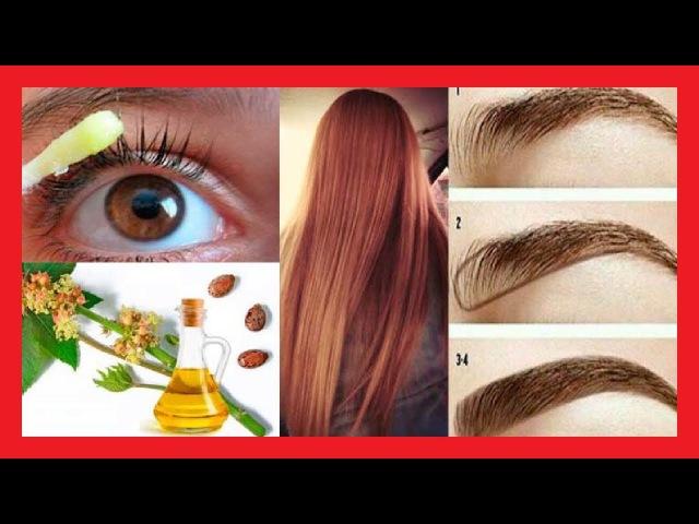 Con solo 2 ingredientes harás crecer tu cabello cejas y pestañas como nunca antes
