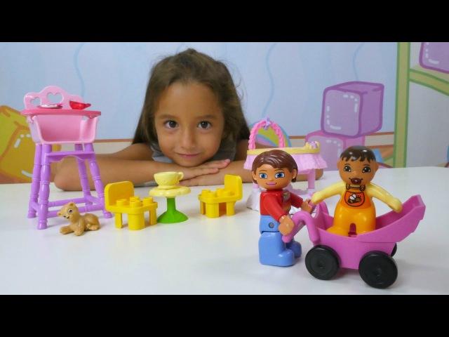 Türkçe izle - kız çocuk oyuncakları/oyunları/videoları. Ceylin Lego bebekler ile park gezisinde