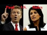 Rand Paul GRILLS Nikki Haley Trump's UN Ambassador Pick