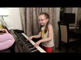 КРУЧЕ ВСЕХ - (cover Open Kids ft. Quest Pistols Show) - Виктория Викторовна 8 лет)))