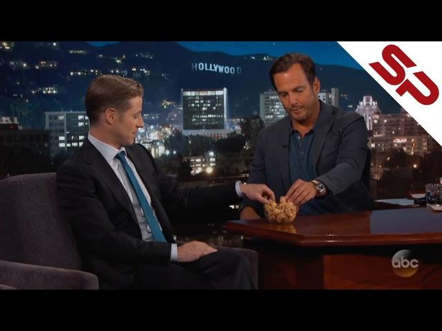 Бен МакКензи и Уилл Арнетт кушают печеньки Jimmy Kimmel