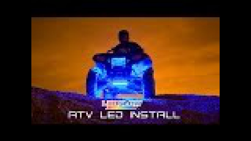 LEDGlow   How To Install ATV LED Lights