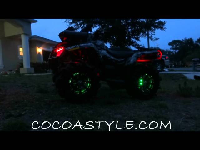 ATV COLOR CHANGING LED COCOA STYLE