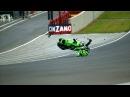 Motogp 300km/h (200 Mph) crash Shinya nakano Mugello GP 2004