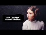 leia organa  yellow flicker beat RIP Carrie Fisher