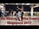 Ela Kiseur Mike Even's Urban Kiz Improvised Demo Singapore 2017