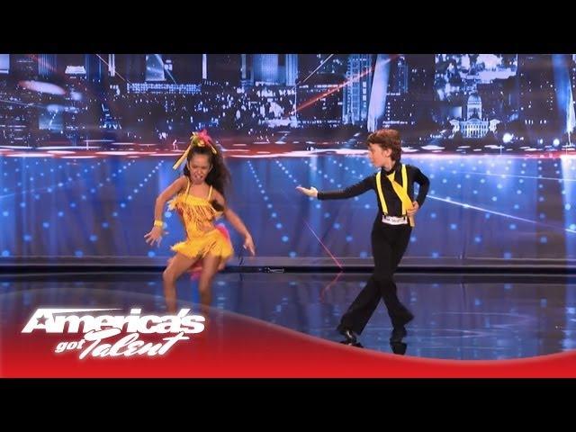 Yasha Daniela - Amazing Kid Dancers Dance to Pitbull and Tina Turner - Americas Got Talent 2013