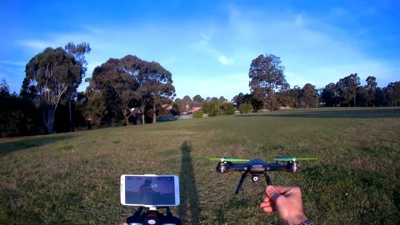 Квадрокоптер Syma X54HW с трансляцией видео (37 см, 2.4Ghz)