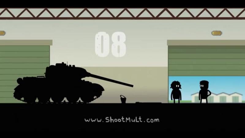 Истории танкистов ПЕРВЫЙ И ВТОРОЙ СЕЗОН. Мультик про танки. Shoot Animation Studio