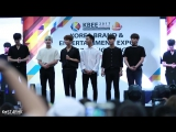 13.07.17 B.A.P - KBEE 2017 photo time 팬사인회 마지막인사 + 자선 이벤트 직캠 - CAM