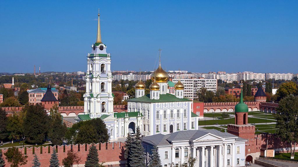 Тульский кремль — уникальный памятник оборонного зодчества