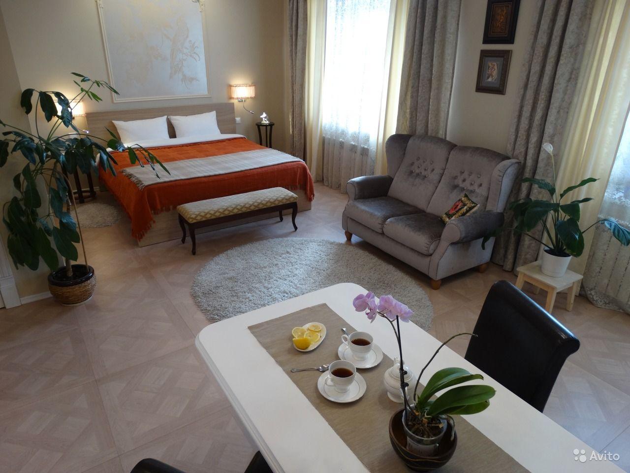 Интерьер квартиры-студии 42 м в Омске.