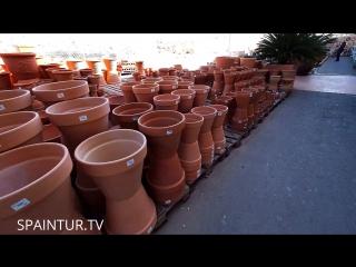 Недалеко от Аликанте есть город Агост - Agost, изделия из глины для дома и виллы