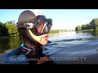 Маркерение в фидерной ловле! Что это.... ?! FEEDERFISHING.TV underwater