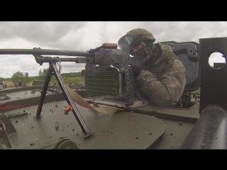 Учение спецназа ВВО с применением бронеавтомобилей «Тайфун»