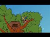 Заставка Симпсонов в стиле знаменитого сериала