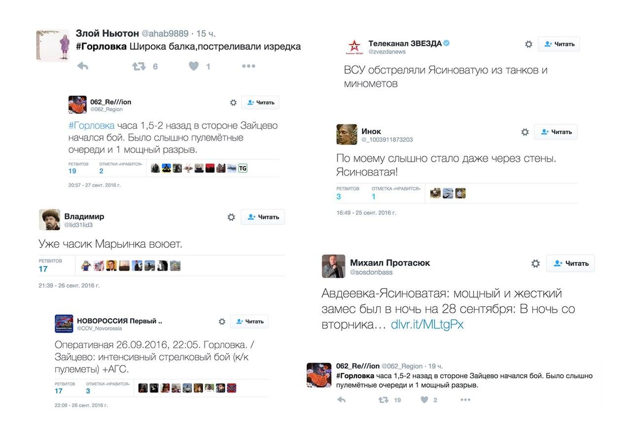 Новости Новороссии, Боевые Сводки от Ополчения ДНР и ЛНР — 29 сентября 2016