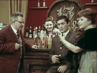   ☭☭☭ Советская телепередача   Кабачок «13 стульев»   Новогодний выпуск   1969  