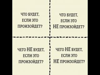Мощная штука для принятия решений — квадрат Декарта.