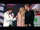 Макс Барских и Светлана Лобода на ковровой дорожке Премии Муз-ТВ 2017